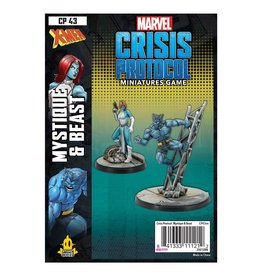 Atomic Mass Games Mystique & Beast - Marvel Crisis Protocol