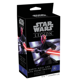 Fantasy Flight Games PREORDER: SW Legion: Darth Maul and Sith Probe Droids Operative Expansion