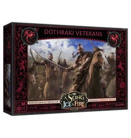 Cool Mini or Not A Song of Ice & Fire Tabletop Miniatures Game: Dothraki Veterans