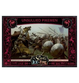 Cool Mini or Not PREORDER: SOIF Targaryen Unsullied Pikemen