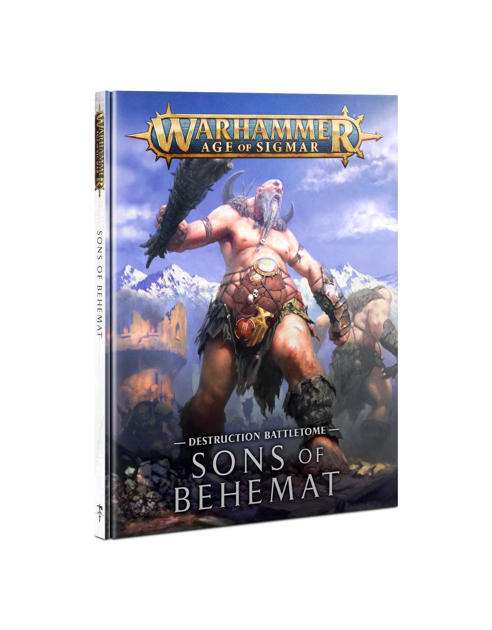Games Workshop AoS Battletome: Sons of Behemat