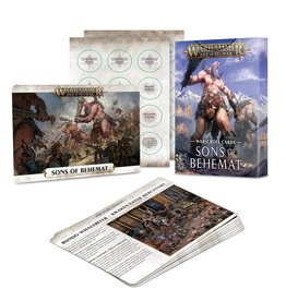 Games Workshop PREORDER: AoS Sons of Behemat Warscroll Cards
