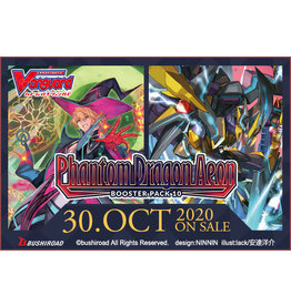 Bushiroad Cardfight!! Vanguard: V Booster 10 - Phantom Dragon Aeon box