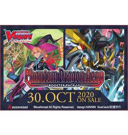 Bushiroad PREORDER: Cardfight!! Vanguard: V Booster 10 - Phantom Dragon Aeon box