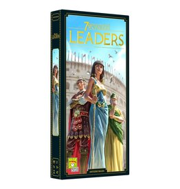Asmodee PREORDER: Leaders Expansion: 7 Wonders New Edition