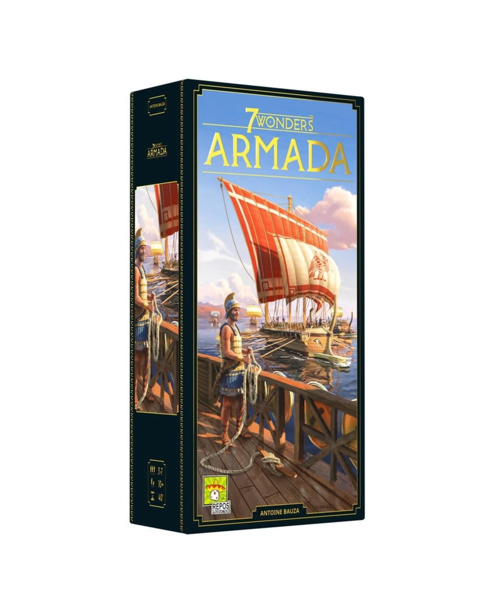 Asmodee 7 Wonders New Edition: Armada