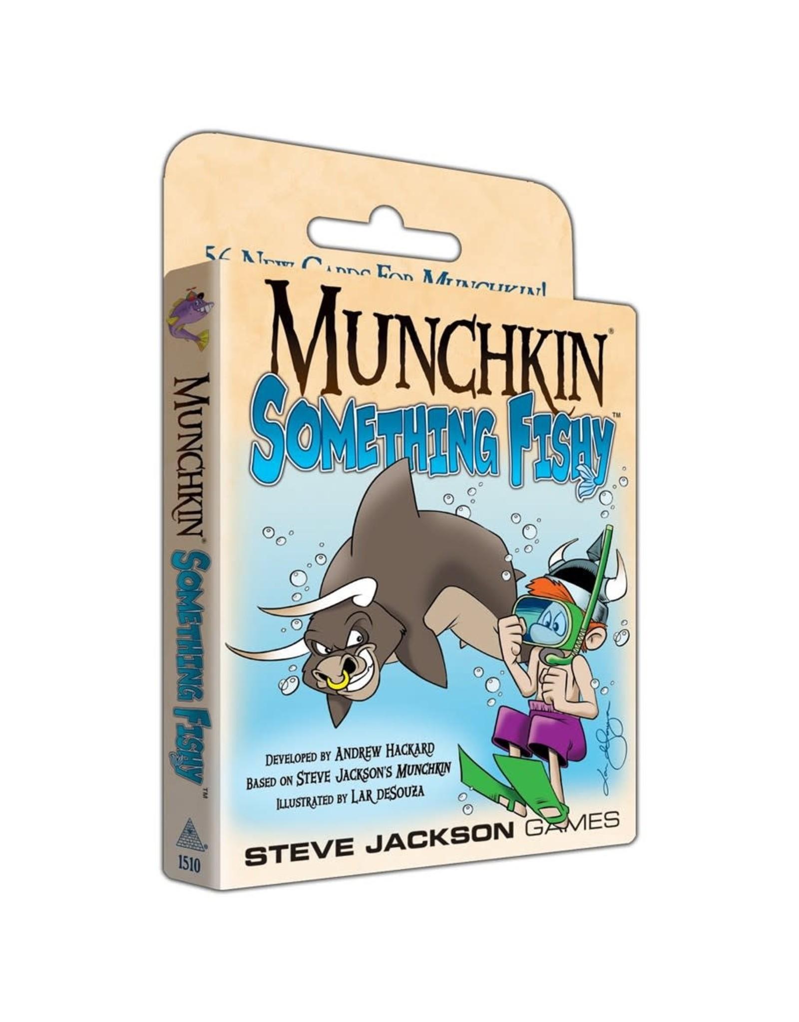 Steve Jackson Games Munchkin: Something Fishy Expansion