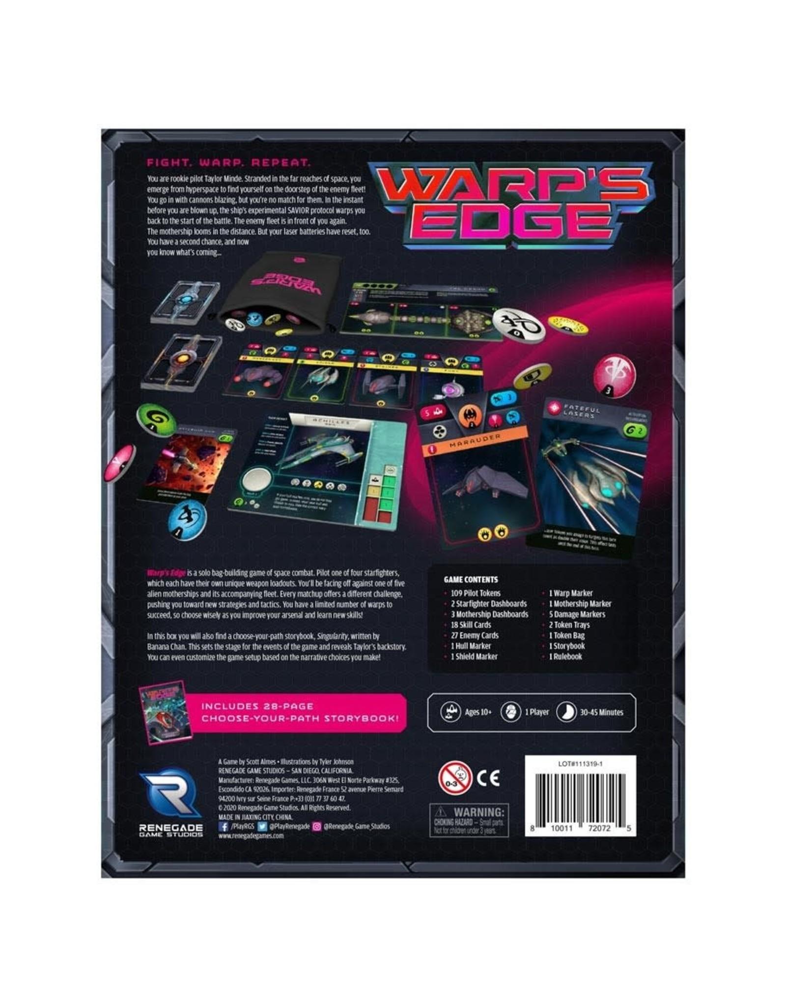 Renegade Solo Hero Series: Warp's Edge