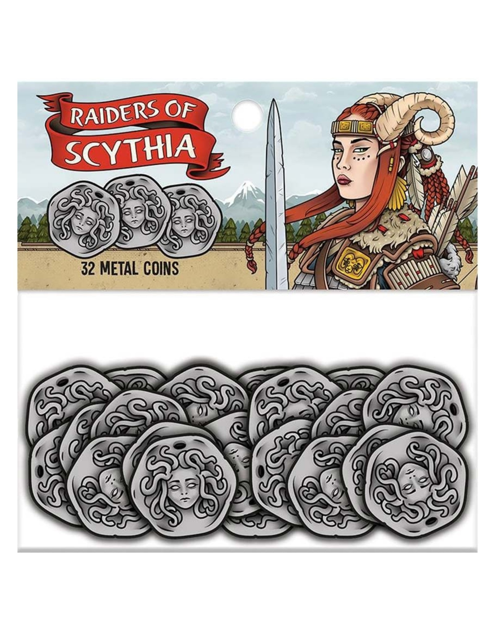 Renegade Raiders of Scythia: Metal Coins (32)