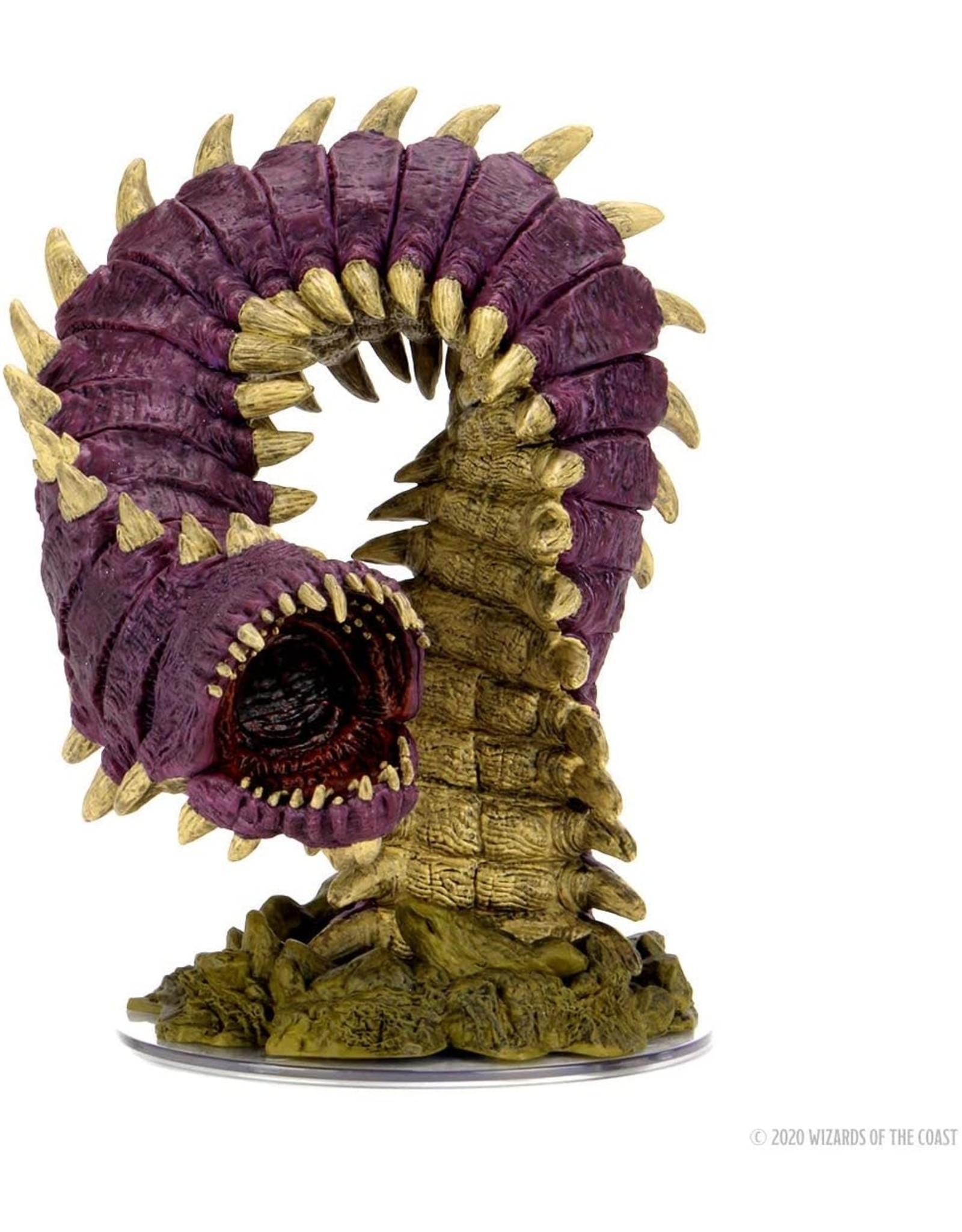 Wizkids D&D Minis: Icons of the Realms set 15 - Purple Worm