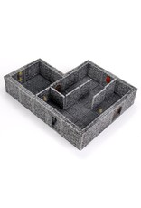 Wizkids WarLock Tiles: Dungeon Tiles II - Full Height Stone Walls expansion
