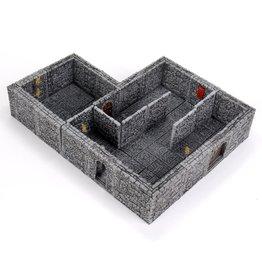 Wizkids Expansion - Full Height Stone Walls - WarLock Tiles: Dungeon Tiles II