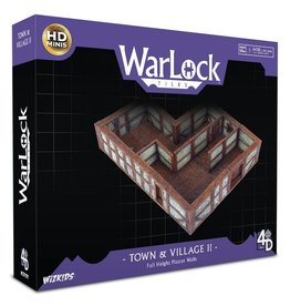 Wizkids Full Height Plaster Walls - WarLock Tiles: Town & Village II