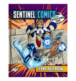 Greater/Than/Games Sentinel Comics RPG: Core Rulebook