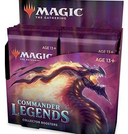 Wizards of the Coast Commander Legends Collector Booster box