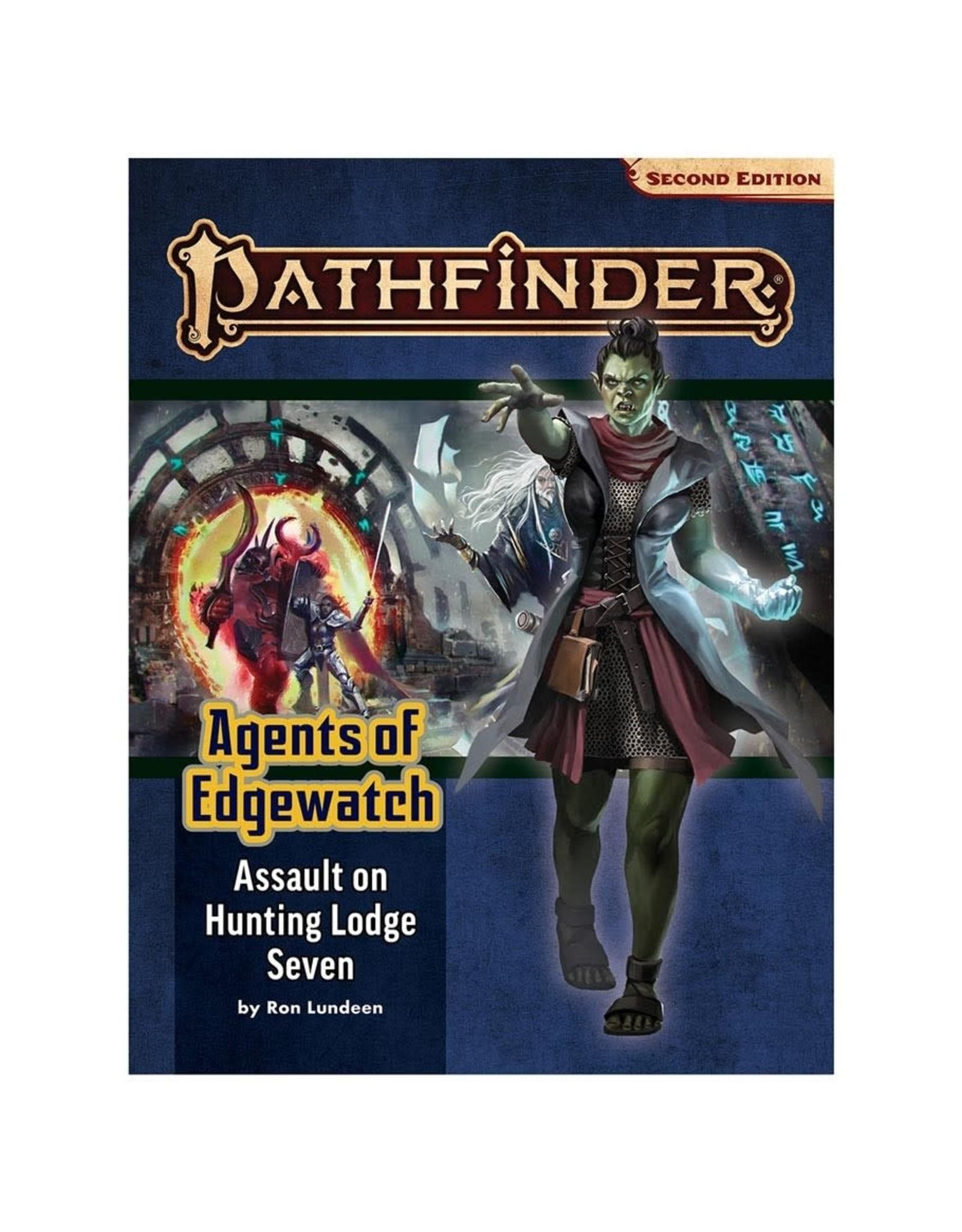 Paizo Pathfinder 2E Adventure Path: Agents of Edgewatch 4 - Assault on Hunting Lodge Seven