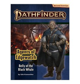 Paizo Pathfinder 2E Adventure Path: Agents of Edgewatch 5 - Belly of the Black Whale