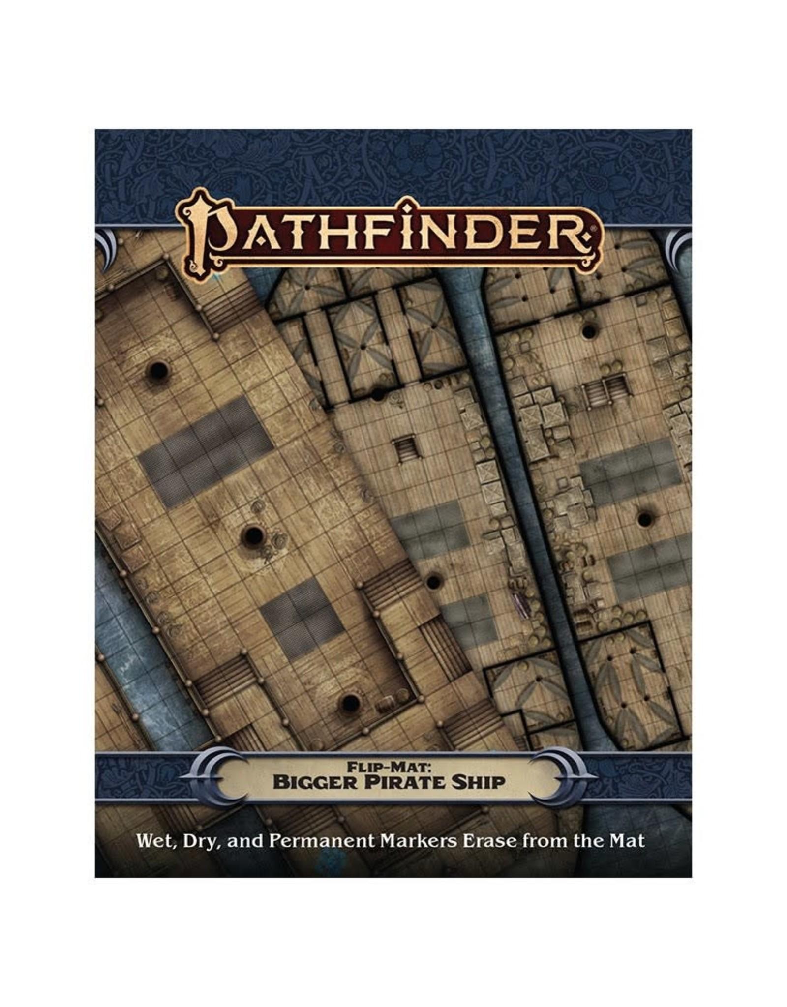 Paizo Pathfinder RPG Flip-Mat: Bigger Pirate Ship