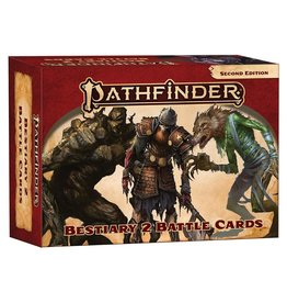 Paizo Pathfinder 2E: Bestiary 2 Battle Cards