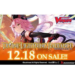 Bushiroad PREORDER: V Booster 12 - Divine Lightning Radiance box - Cardfight!! Vanguard