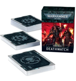 Games Workshop 40K Datacards: Deathwatch