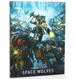 Games Workshop 40K Codex Supplement: Space Wolves (9th)