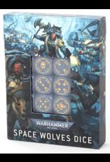 Games Workshop 40K Space Wolves Dice Set