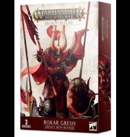 Games Workshop Broken Realms - Gresh's Iron Reapers