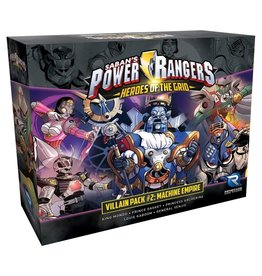 Renegade Power Rangers: Heroes of the Grid Villain Pack #2 - Machine Empire Expansion