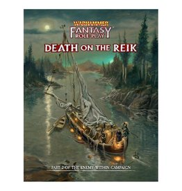 Cubicle Seven PREORDER: Enemy Within Vol. 2 - Death on the Reik Director's Cut: Warhammer Fantasy RPG