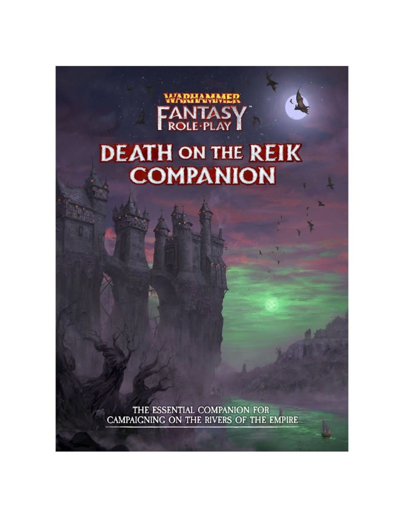 Cubicle Seven Enemy Within Vol. 2 - Death on the Reik Companion: Warhammer Fantasy RPG