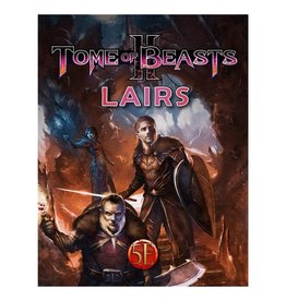 kobold press D&D 5E RPG: Tome of Beasts 2 - Lairs