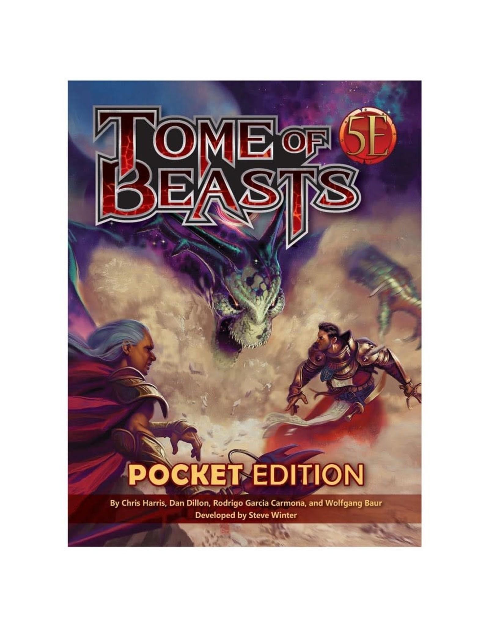 kobold press D&D 5E RPG: Tome of Beasts pocket edition