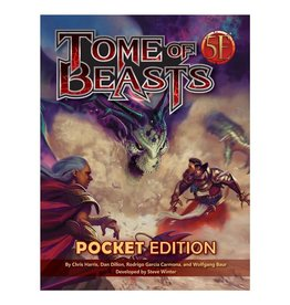kobold press D&D 5E RPG: Tome of Beasts pocket edition