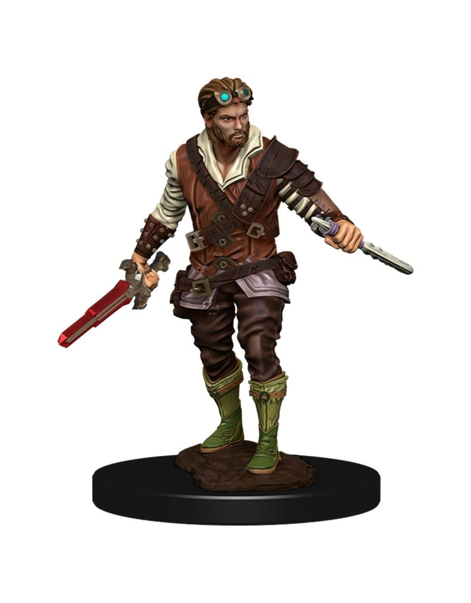 Wizkids Premium Figures - Human Rogue Male W4 Icons of the Realms - D&D Minis