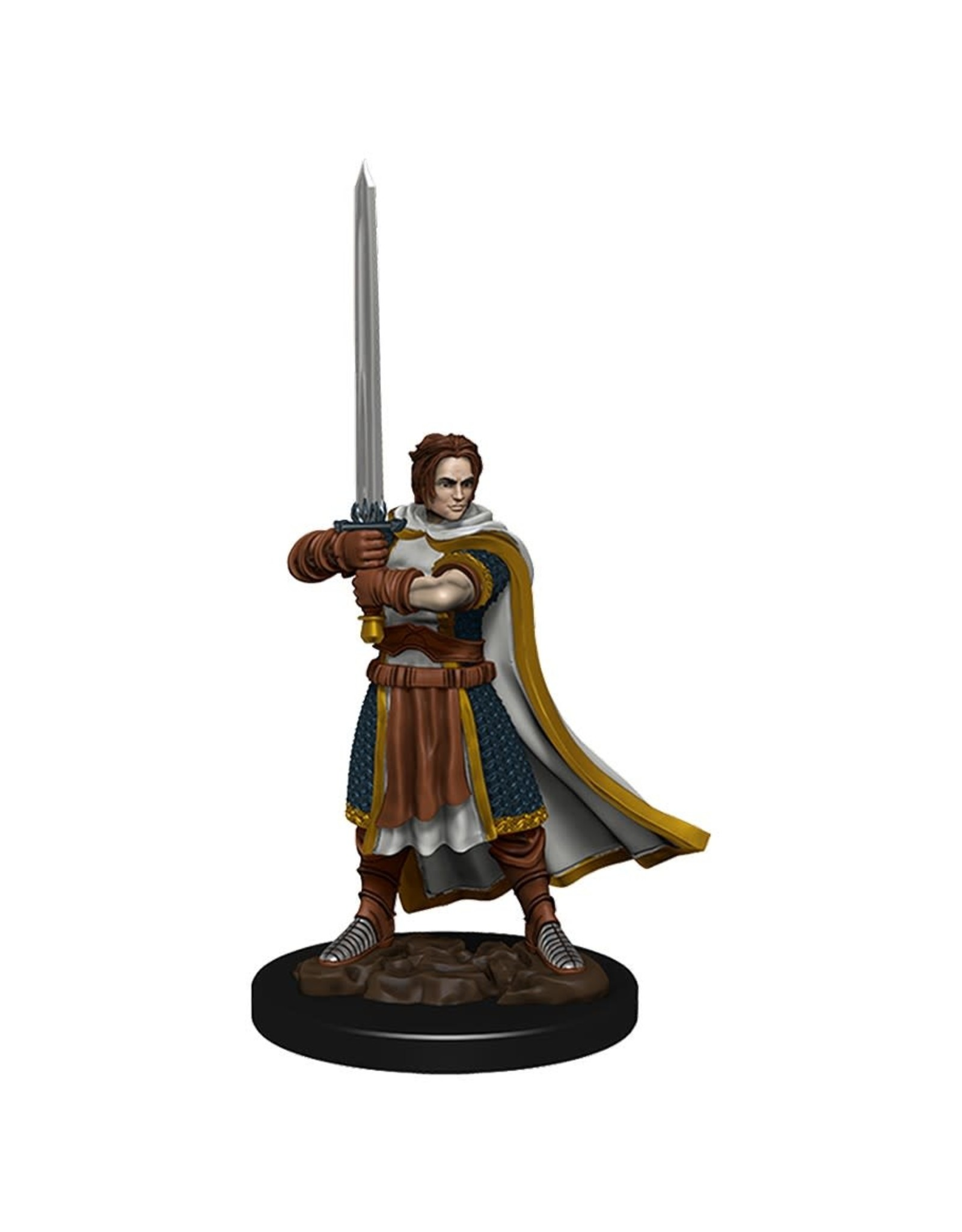 Wizkids Premium Figures - Human Cleric Male W4 Icons of the Realms