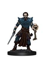 Wizkids Premium Figures - Human Warlock Male W4 Icons of the Realms - D&D Minis