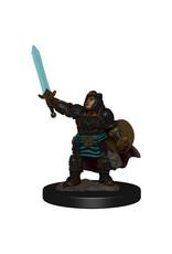 Wizkids Premium Figures - Dwarf Paladin Female W4 Icons of the Realms - D&D Minis