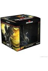 Wizkids D&D Minis: Adult Black Dragon - Icons of the Realms Premium Figure