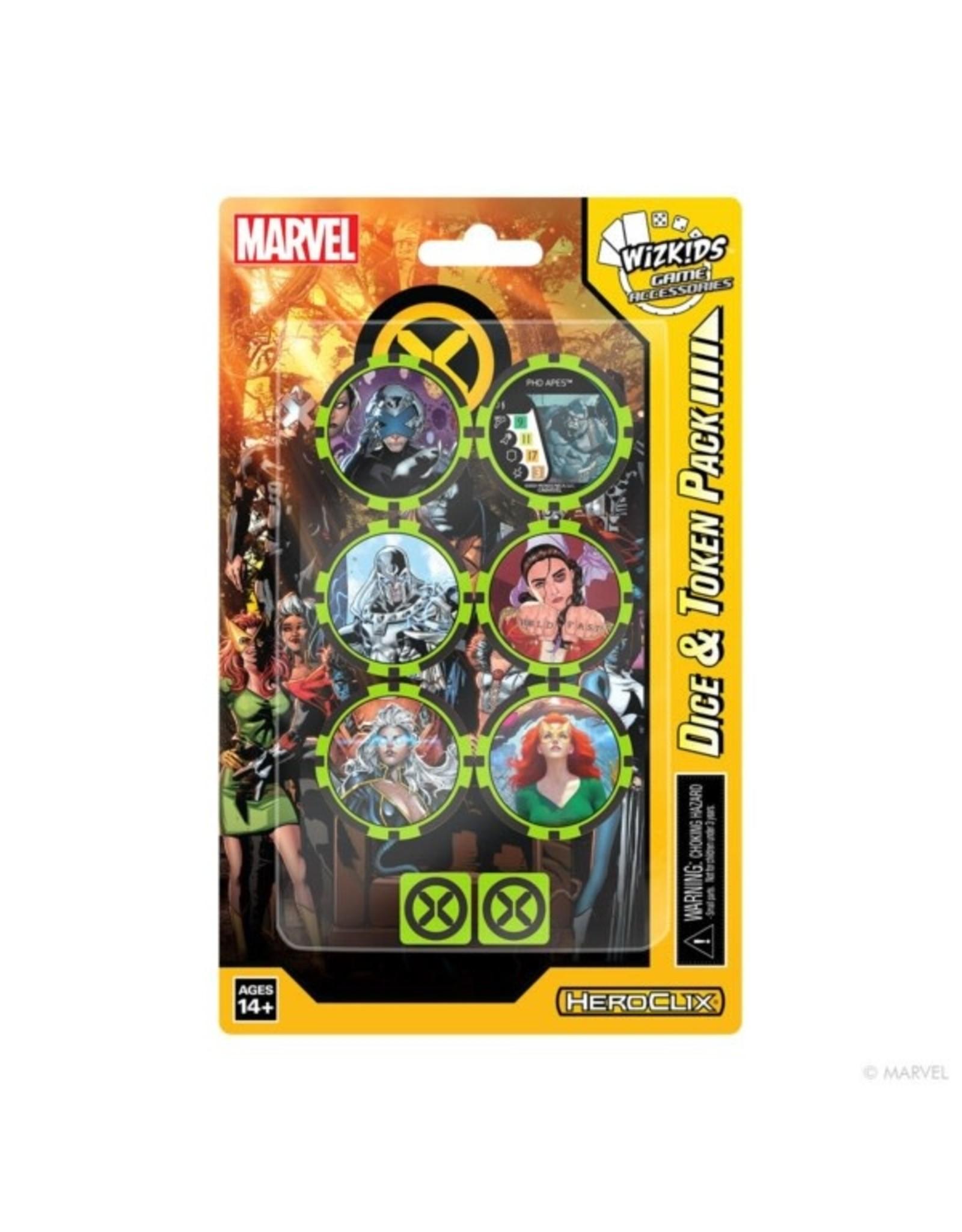 Wizkids X-Men House of X Dice and Token Pack - Marvel Heroclix