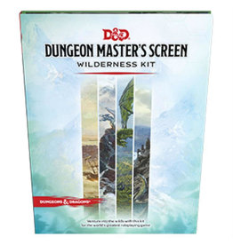 Wizards of the Coast D&D 5th Edition: Dungeon Master's Screen Wilderness Kit