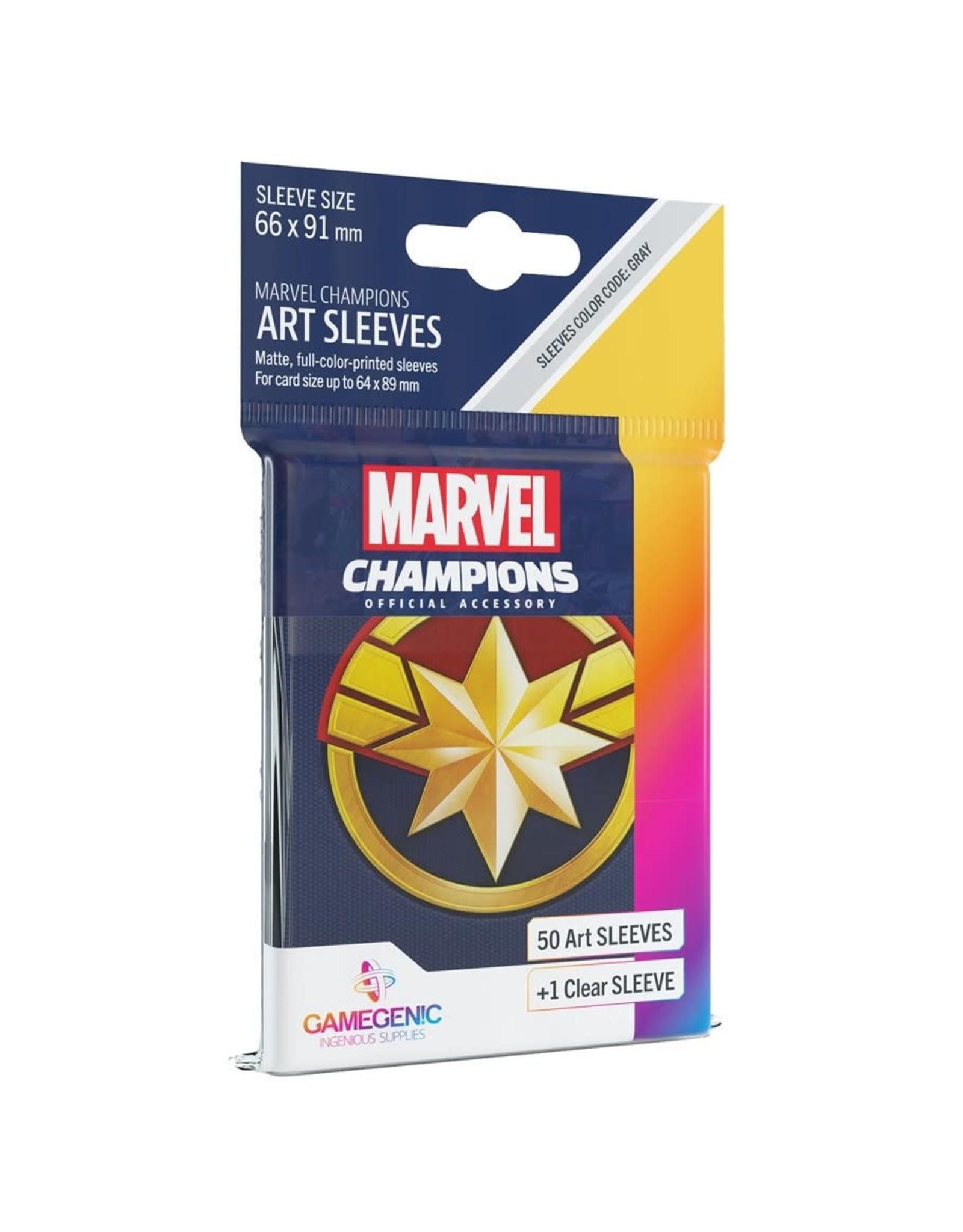 Gamegenic Captain Marvel - Marvel Champions Sleeves