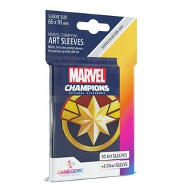 Gamegenic Captain Marvel - Marvel Champions Sleeves