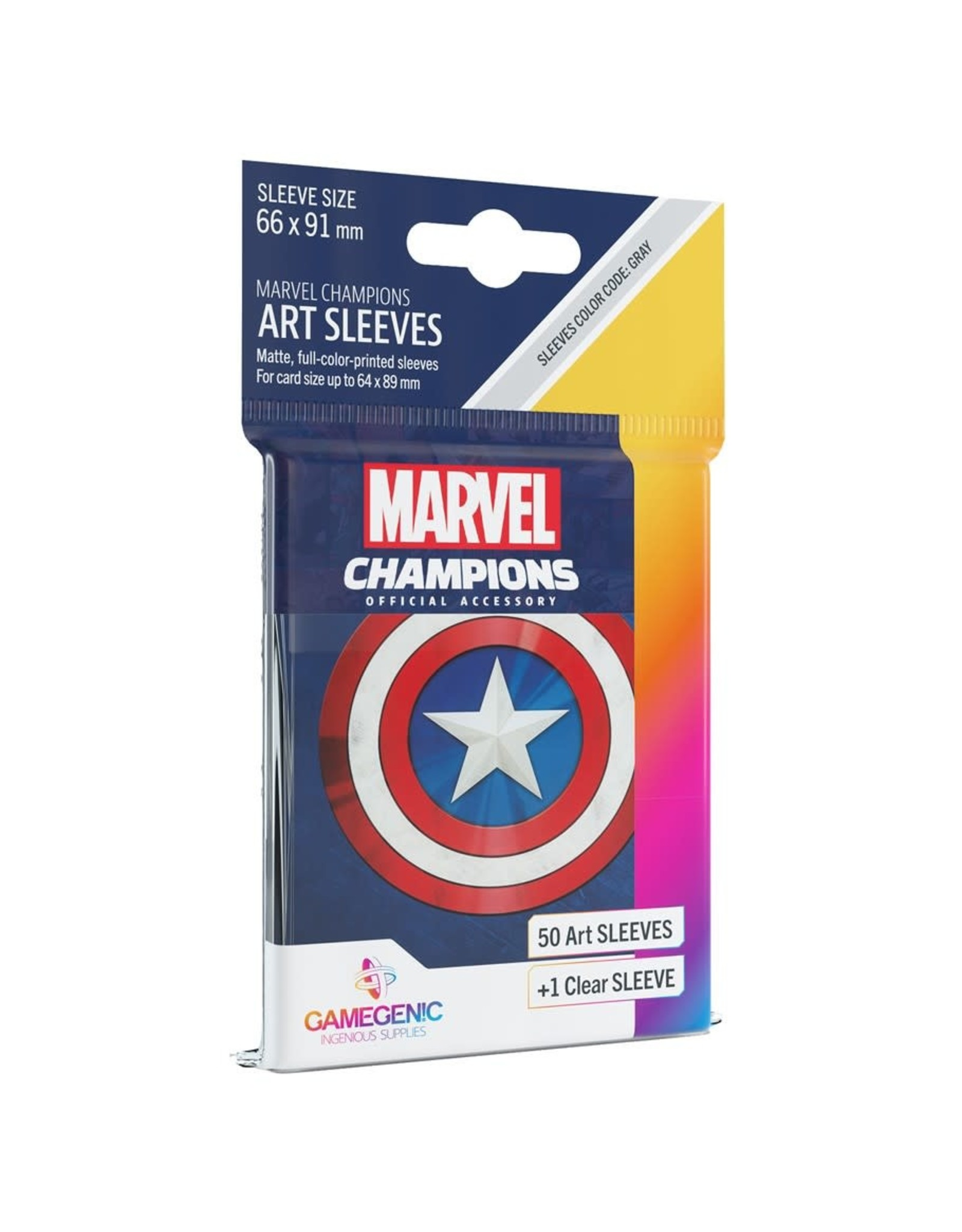 Gamegenic Captain America - Marvel Champions Sleeves