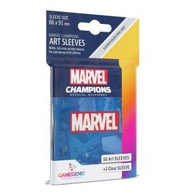 Gamegenic Marvel Champions Sleeves: Blue