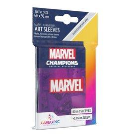 Gamegenic Marvel Champions Sleeves: Purple