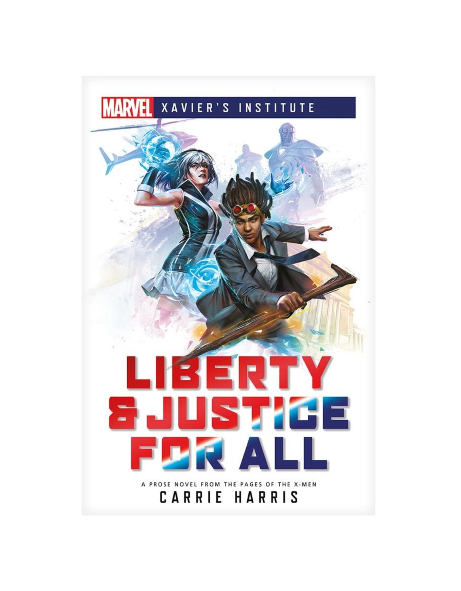 Asmodee Marvel Xavier's Institute: Liberty & Justice for All (Novel)