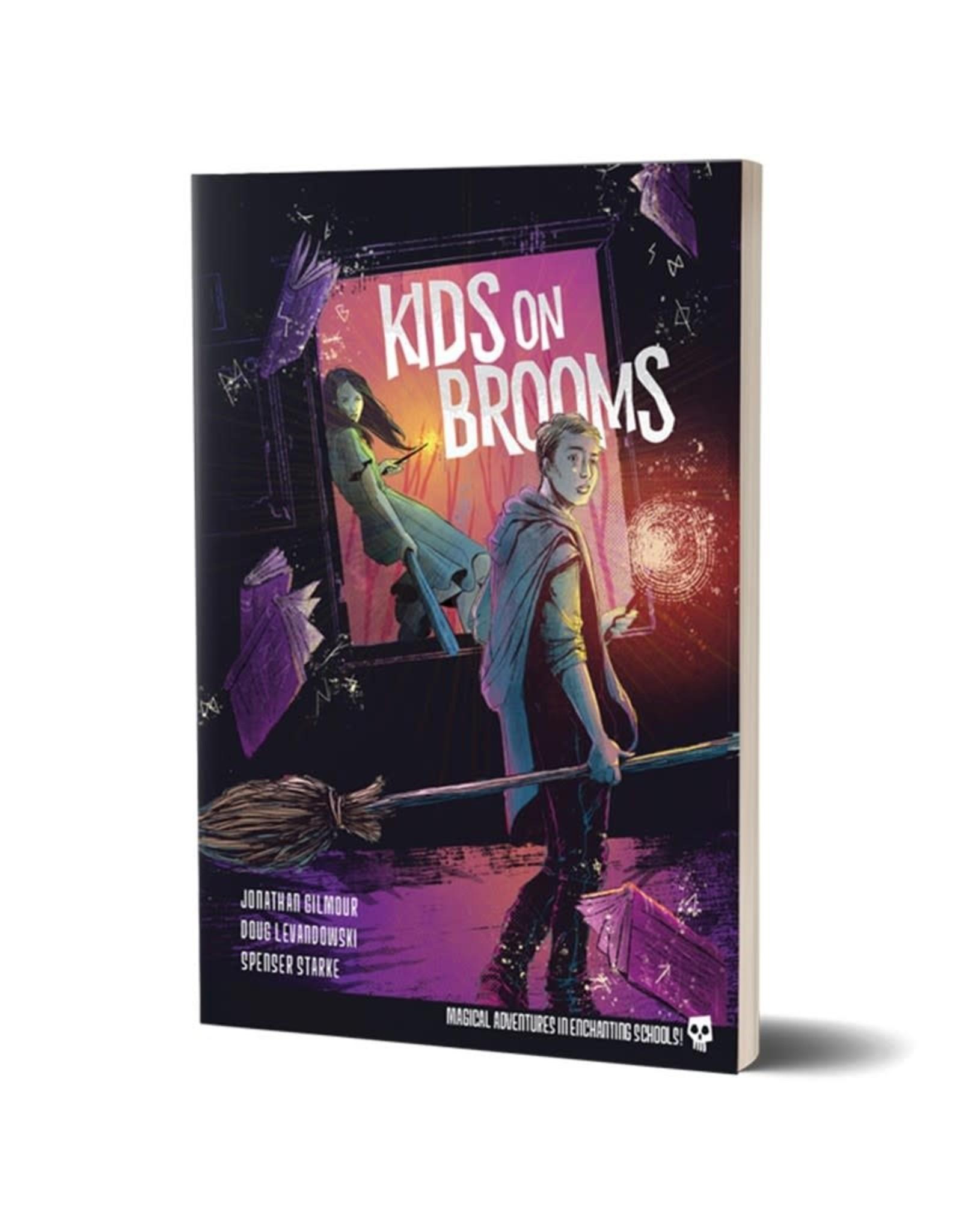 Renegade Kids on Brooms RPG Core Rule Book