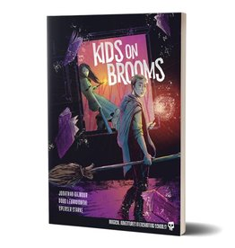 Renegade Kids on Brooms RPG Core Rule Book