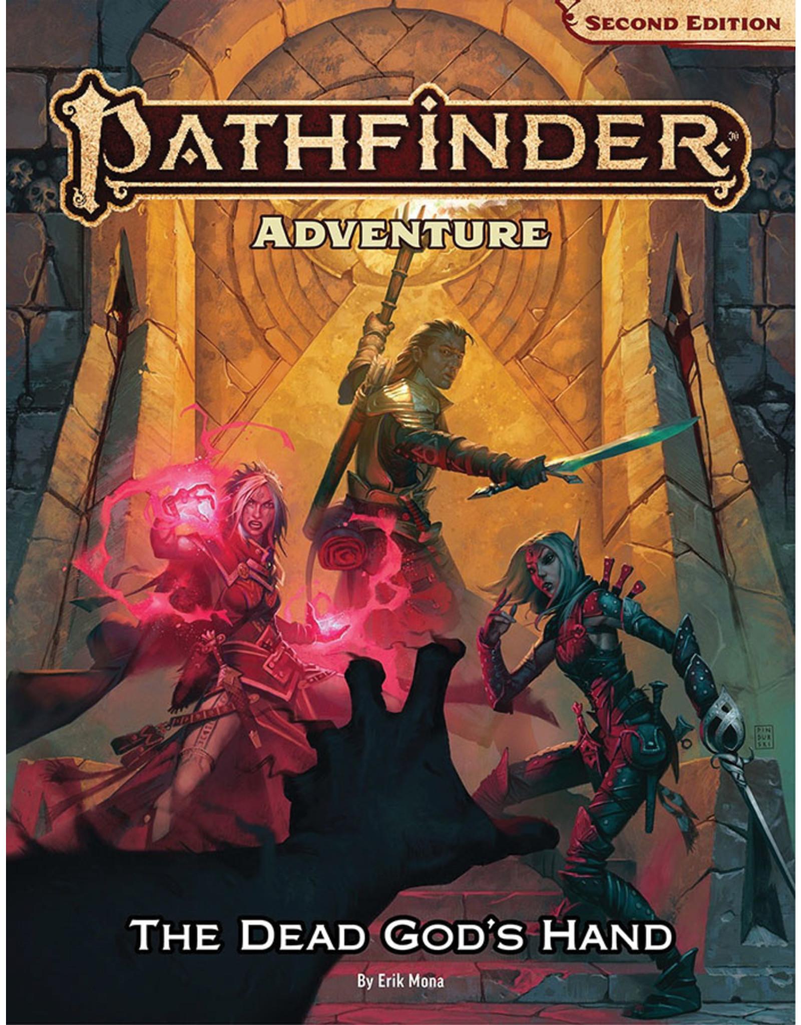 Paizo PREORDER:  The Dead God's Hand Hardcover - Pathfinder 2E: Adventure